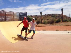 Learn how to skate a Halfpipe with your personal Coach Carl.