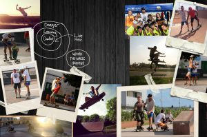 Experiences Longboard-Masterclass. Happy Students and a proud teacher.