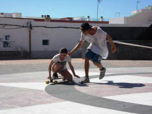 Longboardkurs mit Carl