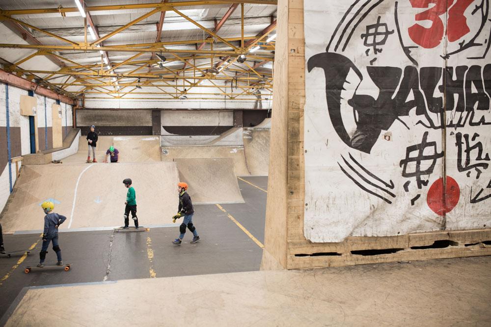 Walhalla Skatehalle in Braunschweig