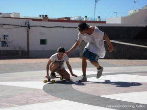 Perfection in Carving Techniques at the personal Longboard-Masterclass Coaching in Fuerteventura