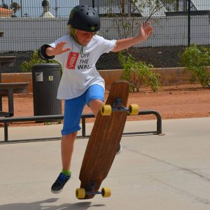 Freestyle skate-lesson for kids