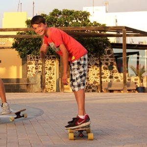 having a good time in Fuerteventura