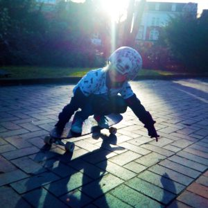 Skateworkshop for children in Hamburg