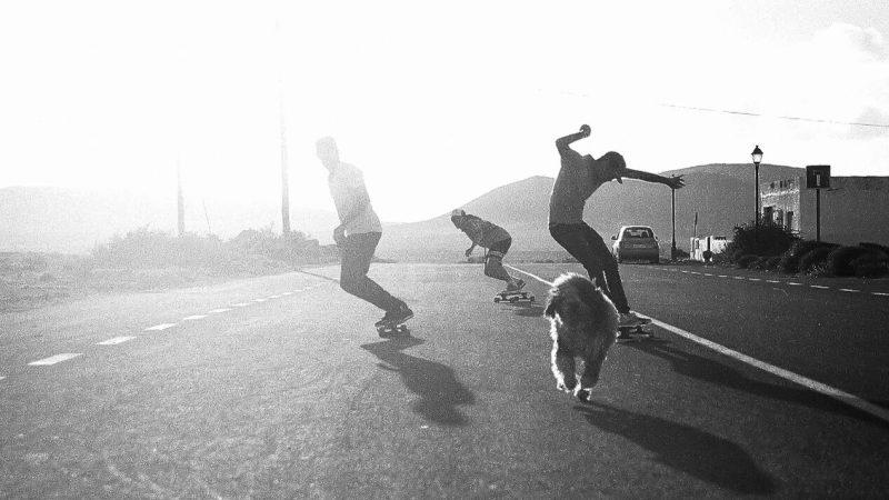 Longboard Skate Course Lajares