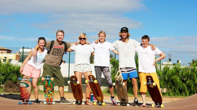 Longboard Skate Course Corralejo