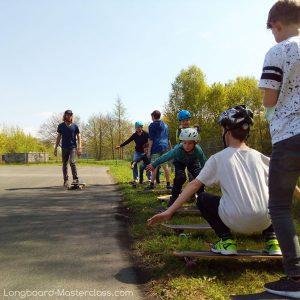 Longboard fahren lernen