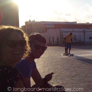 Longboard fahren lernen über 30, über 40 oder über 50 - kein Problem im Anfängerkurs!