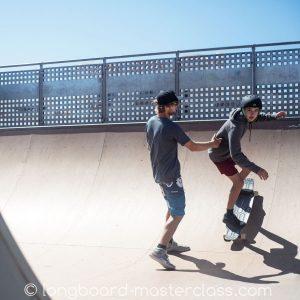 Longboard Privatstunde im Skatepark Flensburg