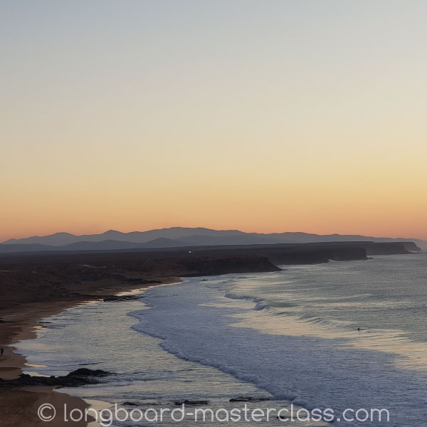 Urlaub am Strand in El Cotillo im Longboard Camp
