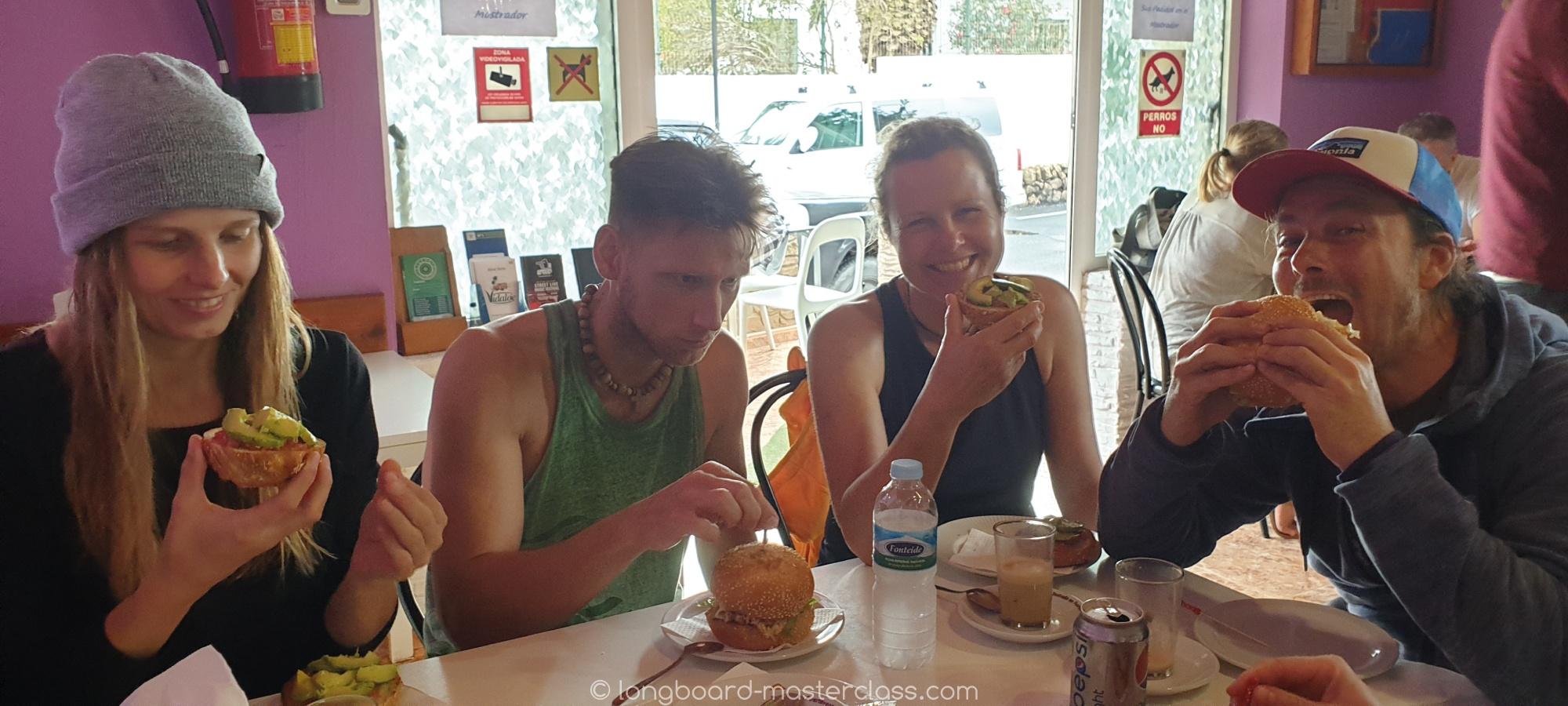 Verpflegung im Longboard Camp. Die besten Restaurants und Küchen Fuerteventuras.