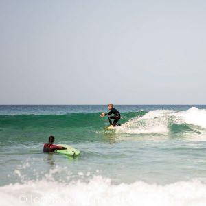 Perfekte glassy waves auf Fuerteventura und wir surfen sie!