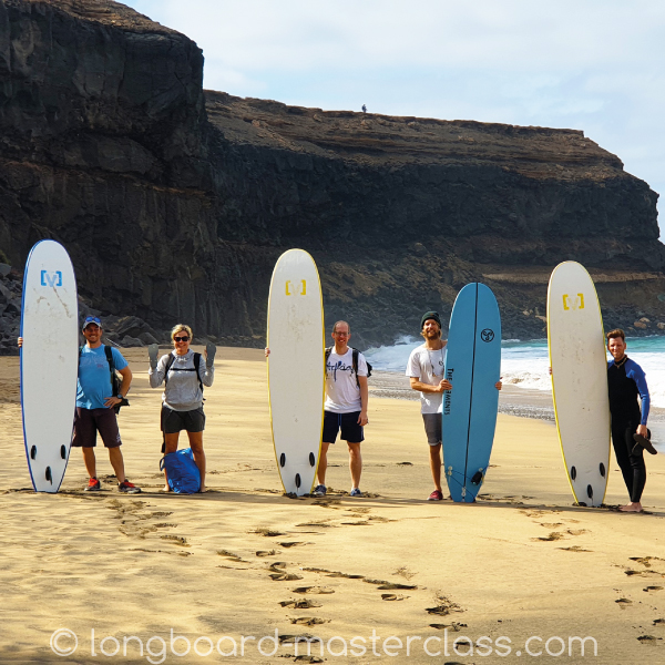 Surfen lernen im Surfcamp auf Fuerteventura