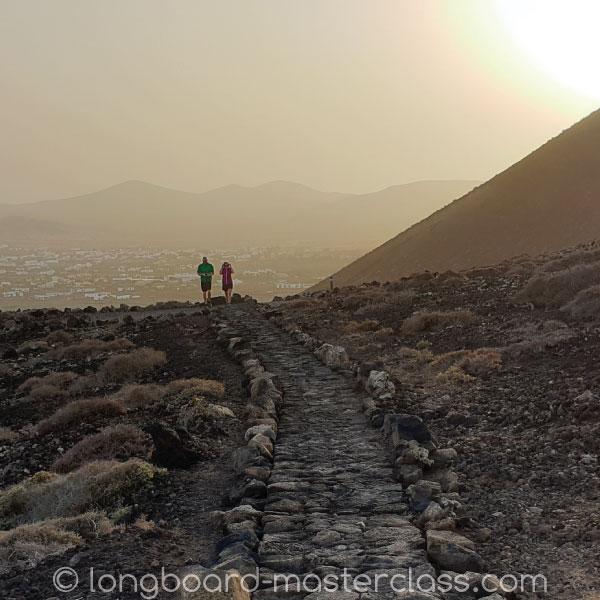 Hike-Wanderung auf den Vulkan in Lajares