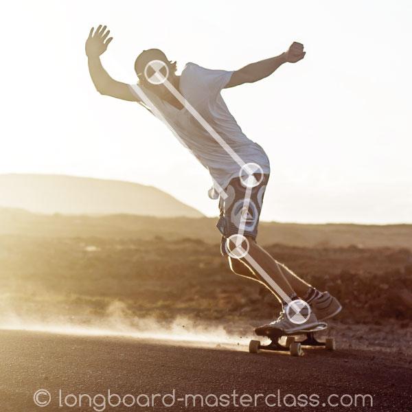 Sliden lernen auf Downhill Longboards in Göttingen.