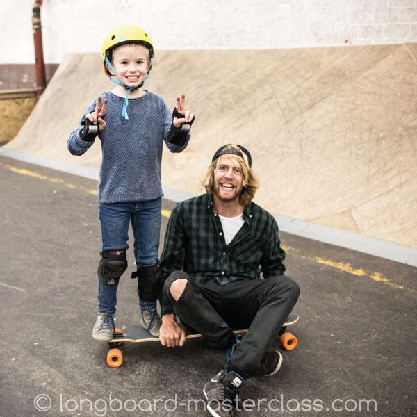 Longboard Einzelunttericht für Kinder