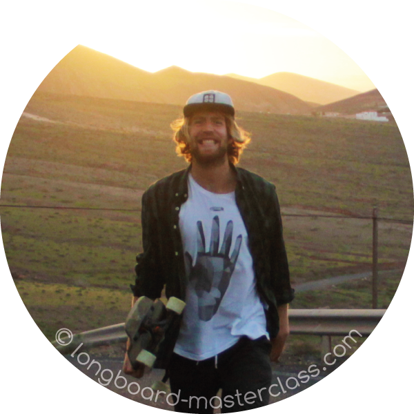 Longboard Trainer und Skateboard Lehrer Carl Fölster