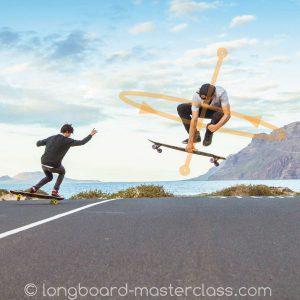 Tricks auf dem Longboard in Privatstunden lernen
