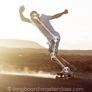 Downhill sliden lernen beim Longboard Training für Fortgeschrittene in Bern